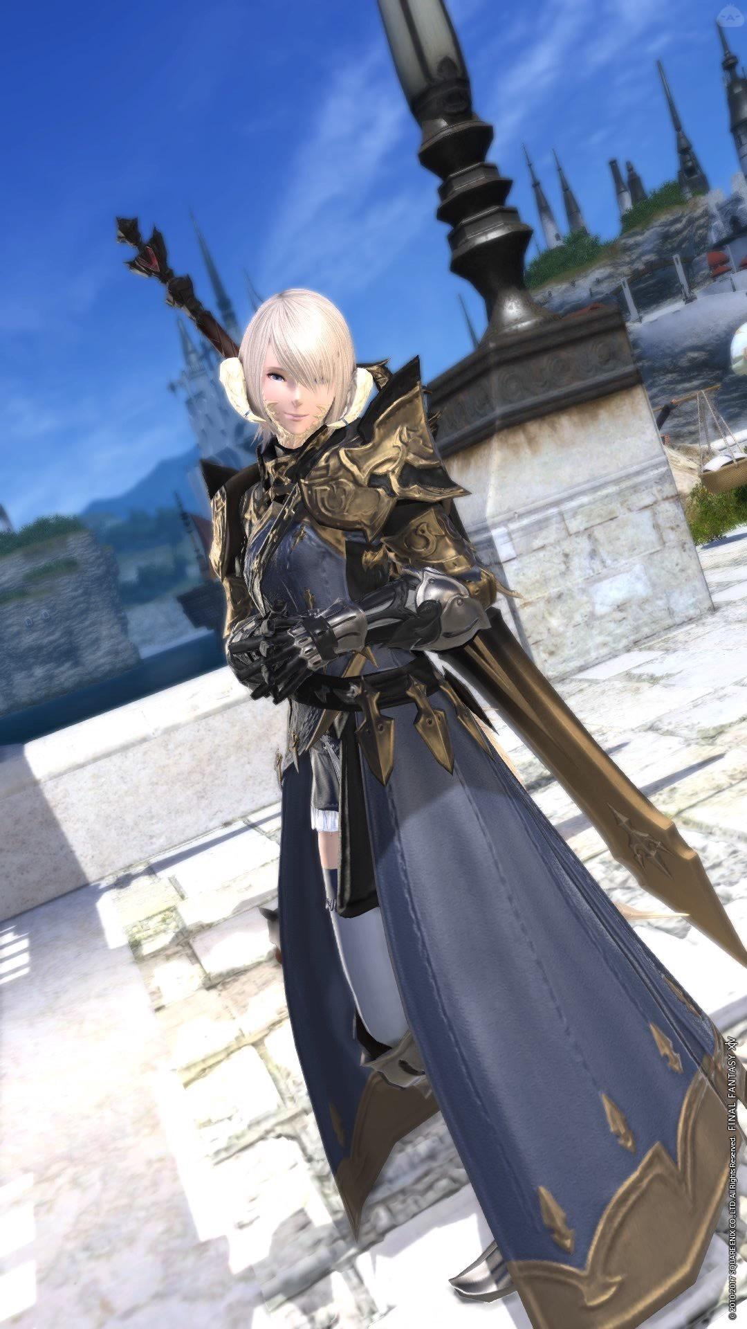 アウラ♀暗黒騎士