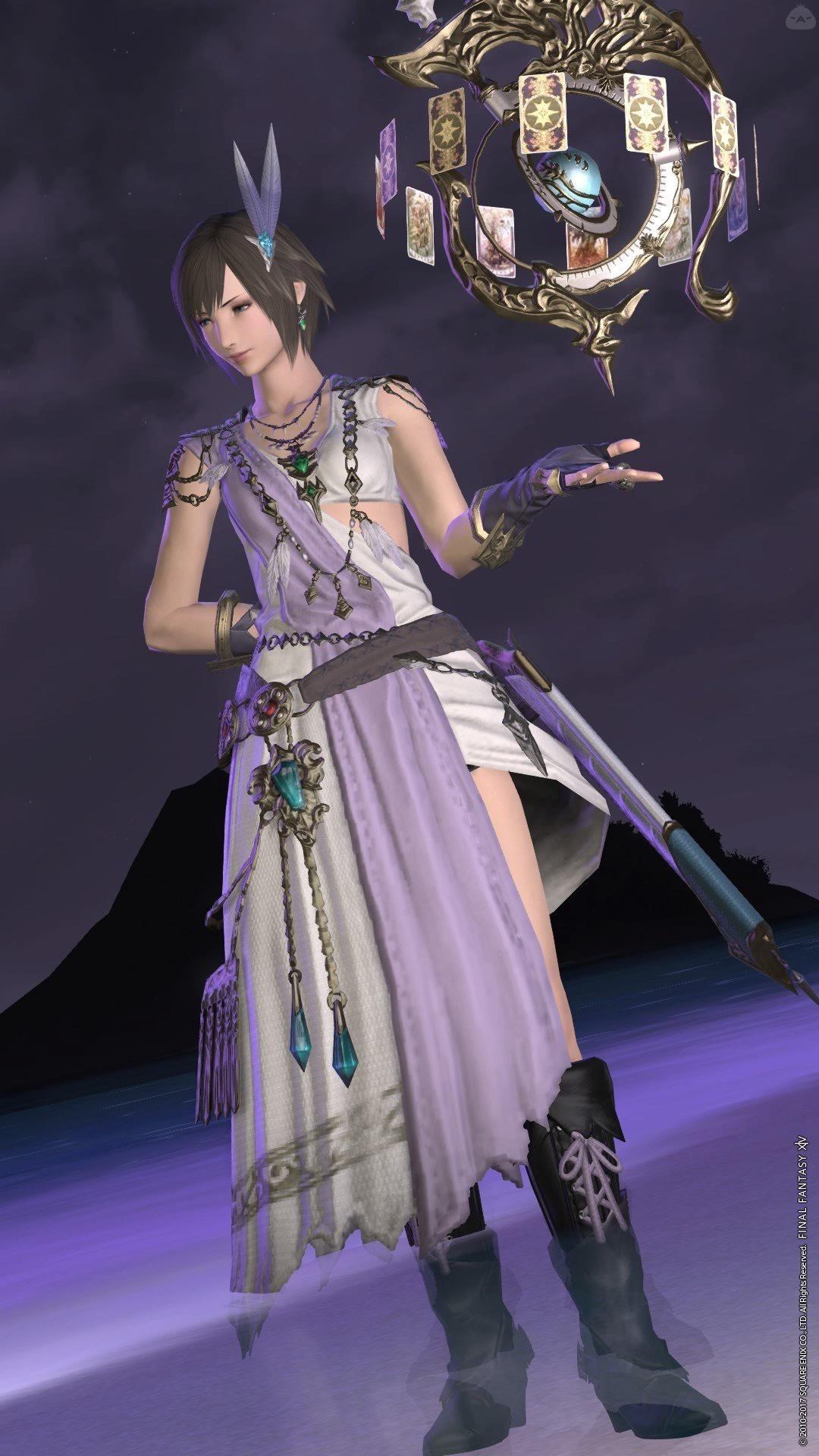 紫色の占星術師