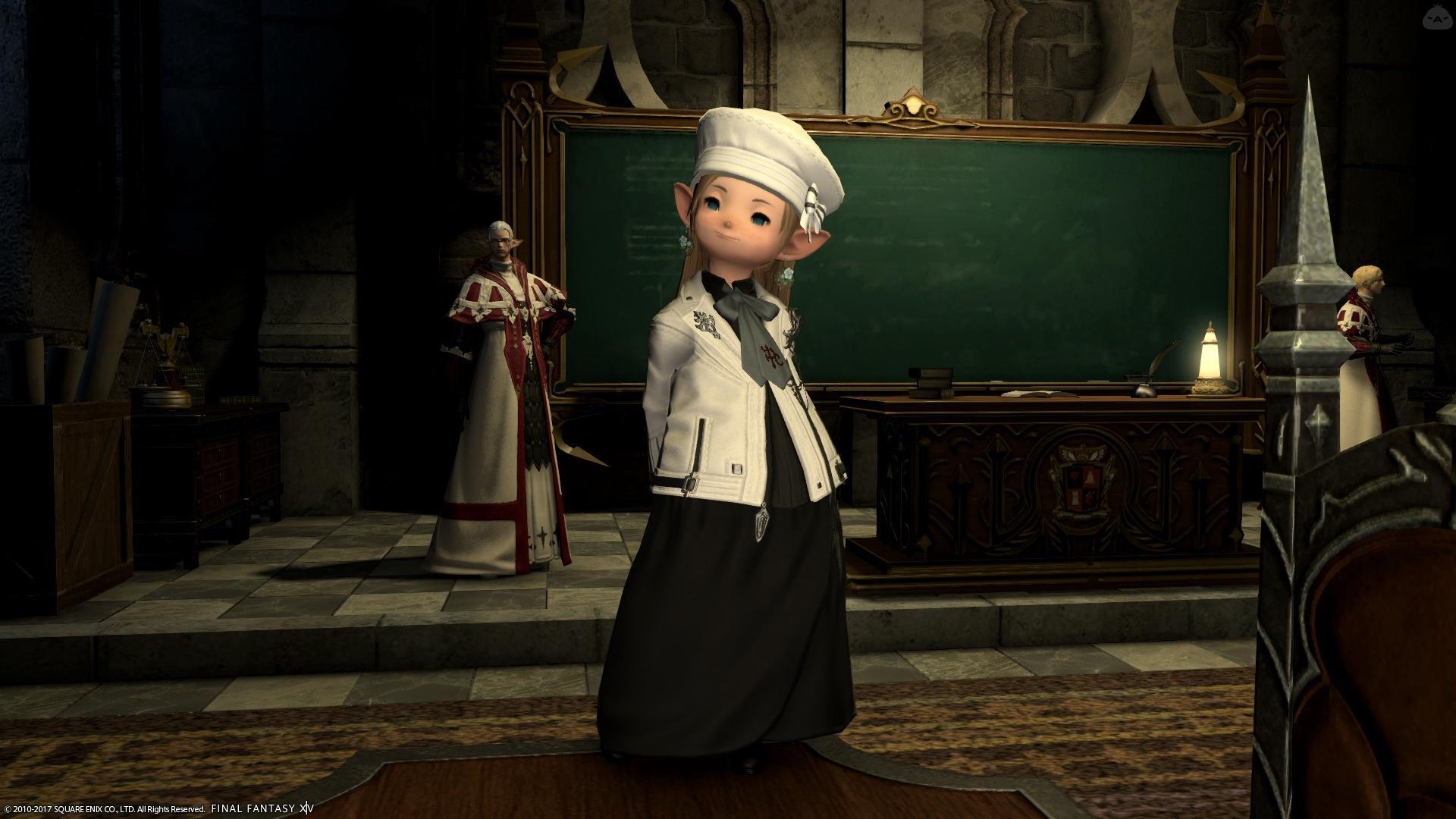 神学院の新しい制服