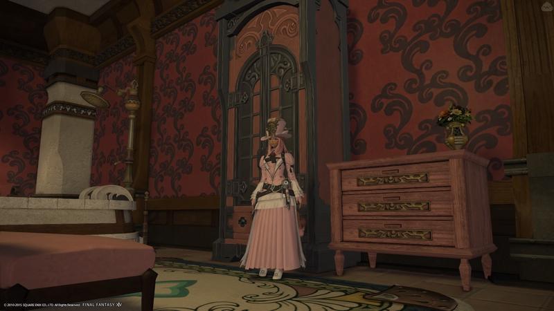 中世のドレス風