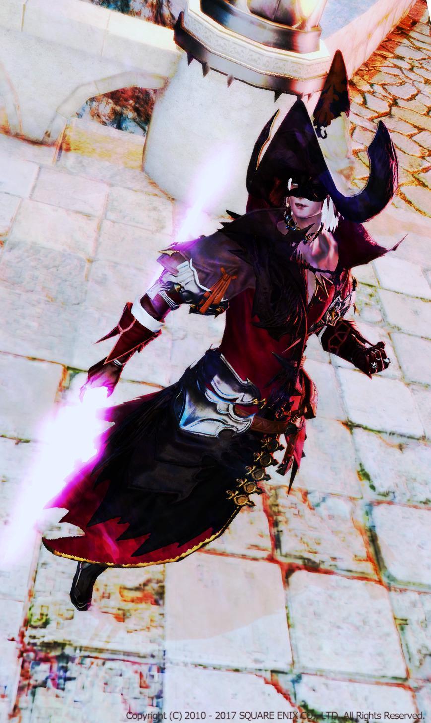 暗黒系黒魔道士