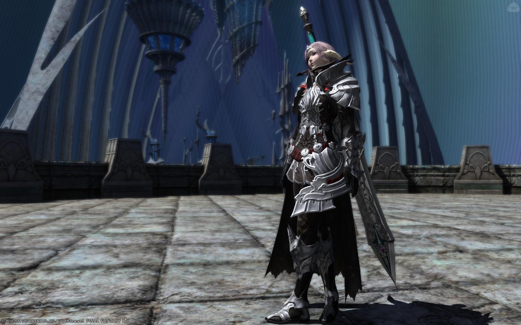 白銀の暗黒騎士