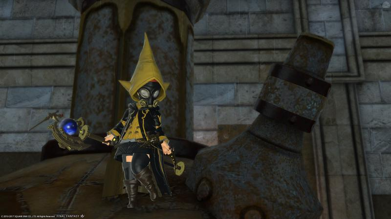 蒸気機関の街の魔女