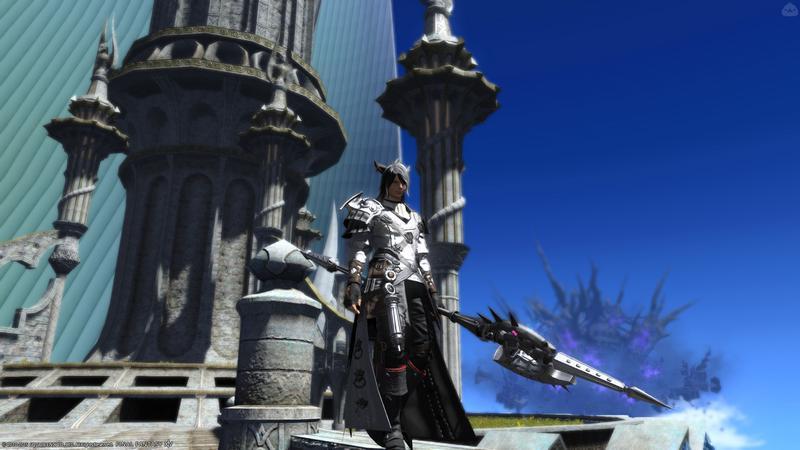 白銀の神殿竜騎士