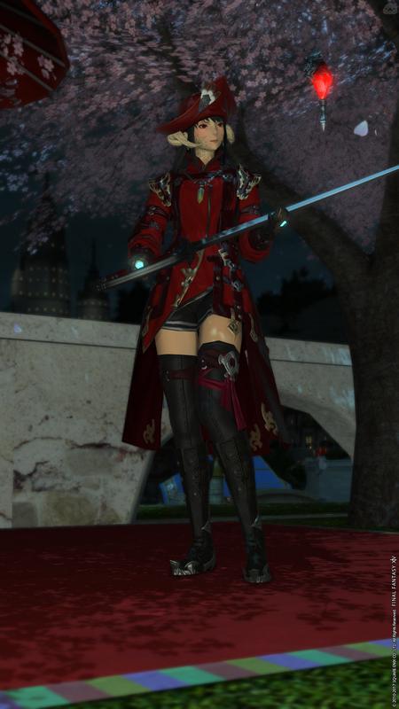 紅の魔法剣士