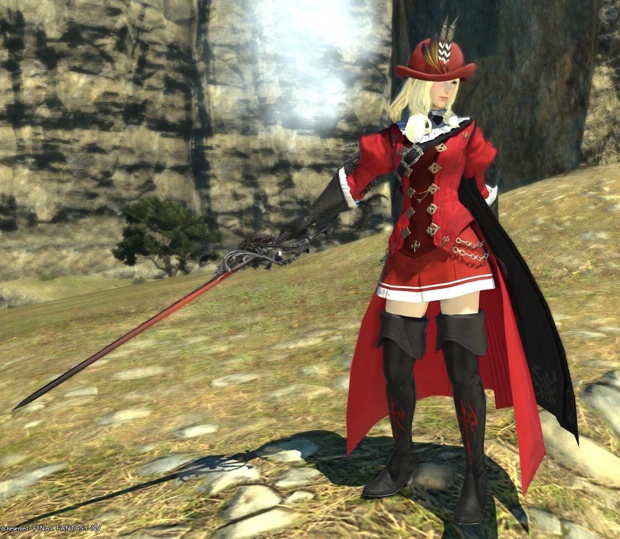 赤魔道士AFを女の子っぽく!