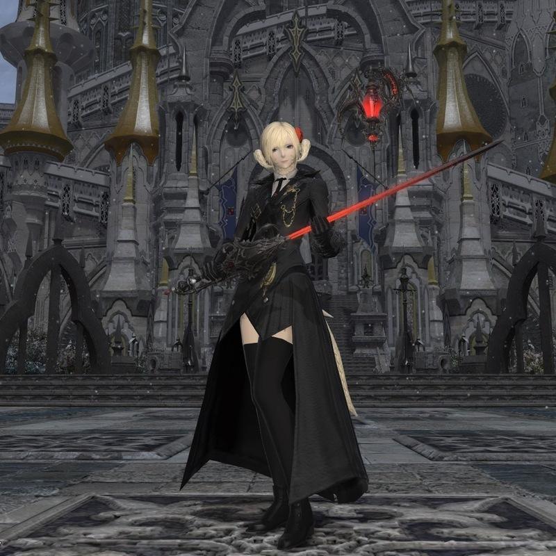 黒い赤魔道士