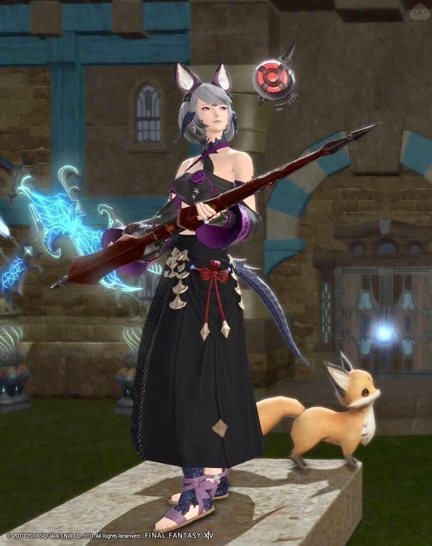 妖狐の赤魔道士
