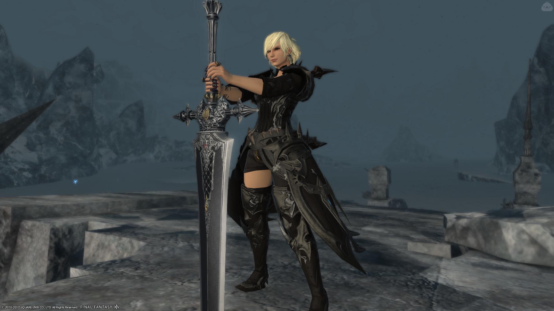暗黒騎士(露出あり)