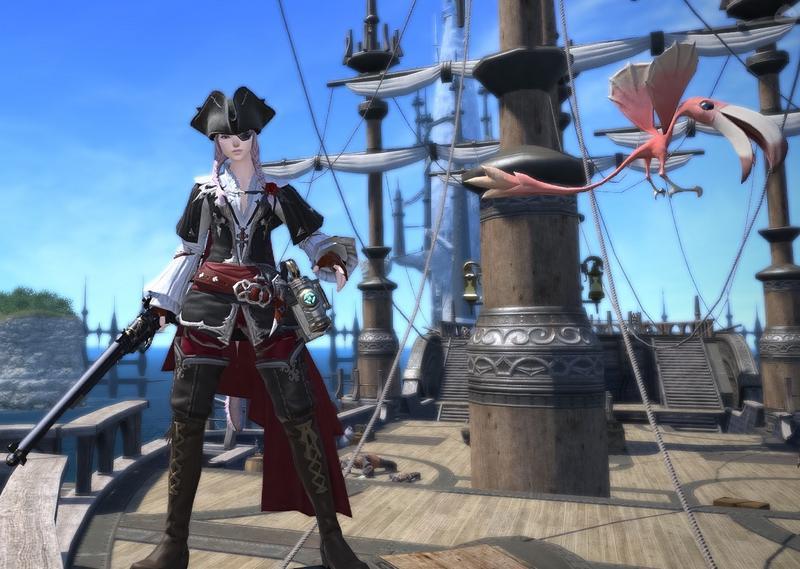 女海賊風ミラプリ
