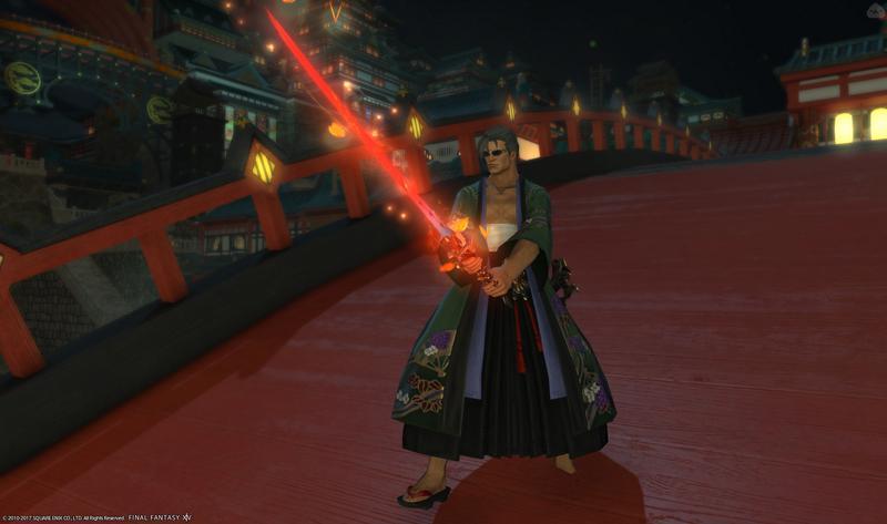 妖刀紅桜の使い手