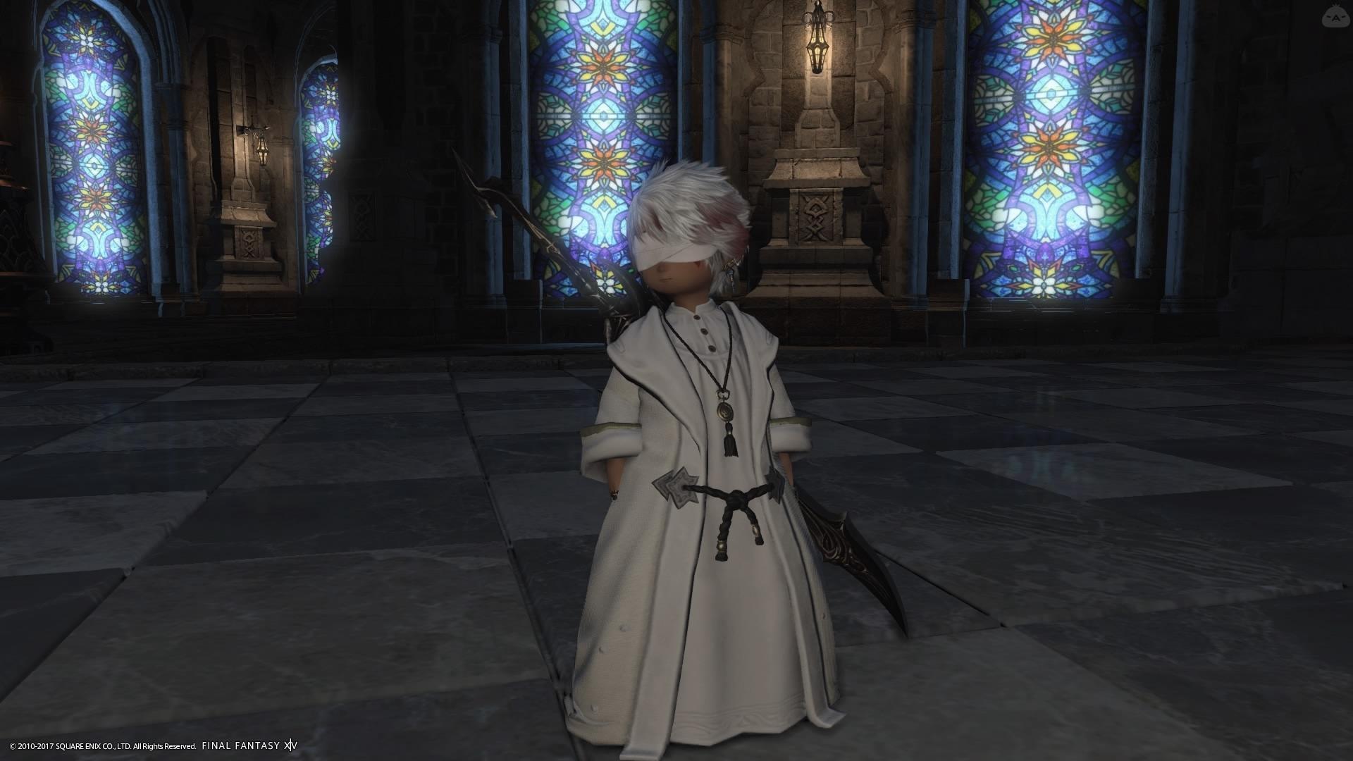 聖職者風ミラプリ