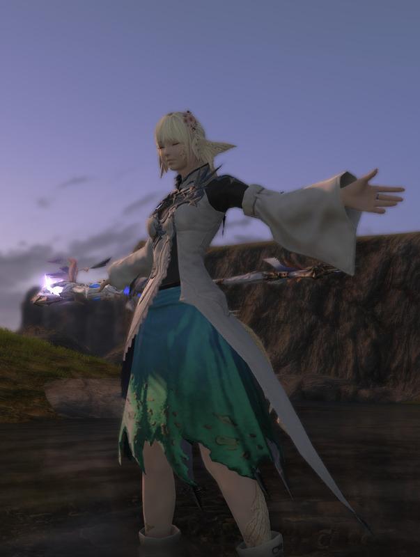 風と大地の魔道士