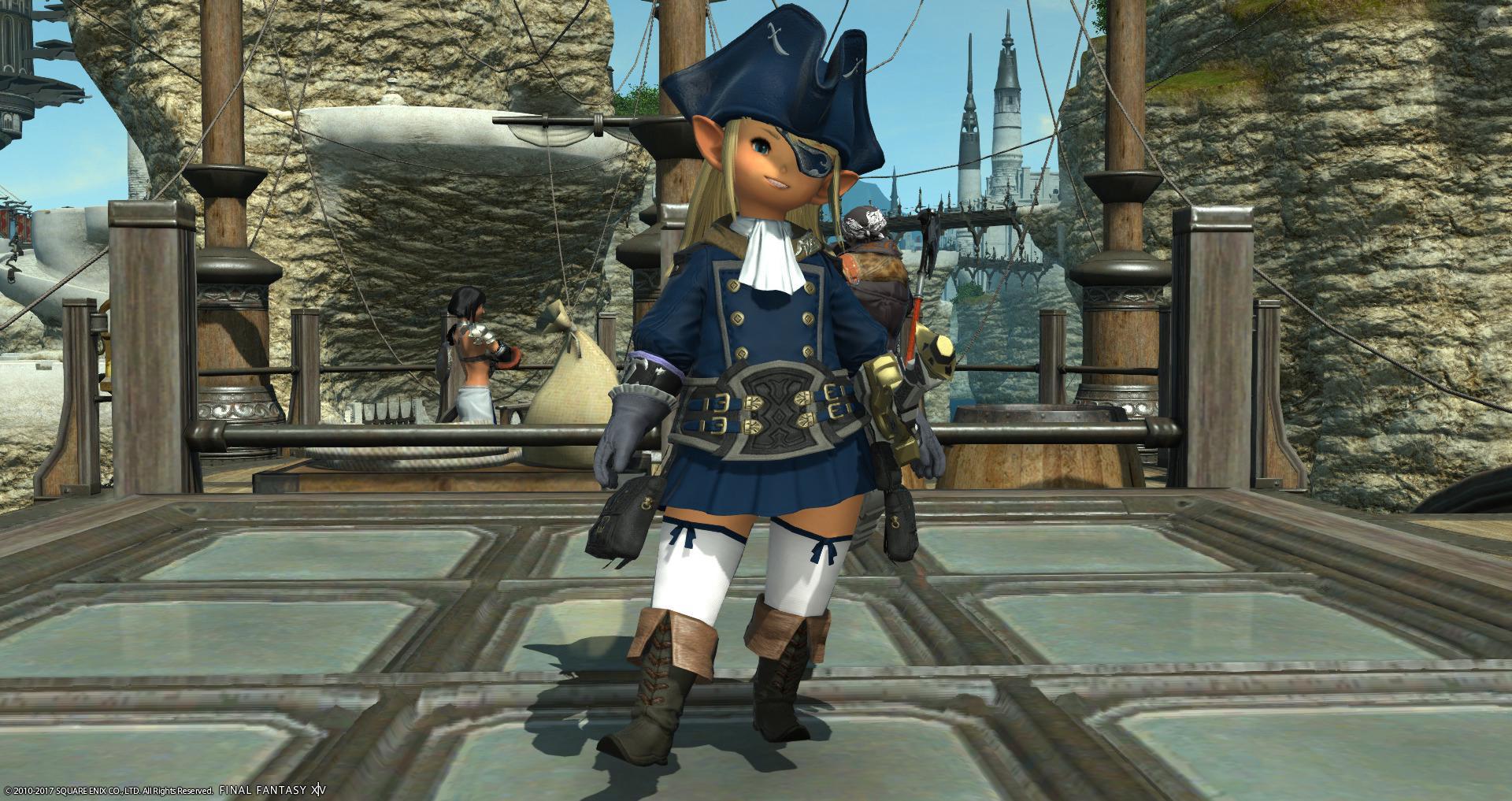 大海賊を目指す少女