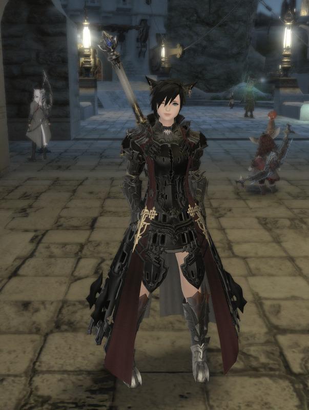 ミニスカ暗黒騎士
