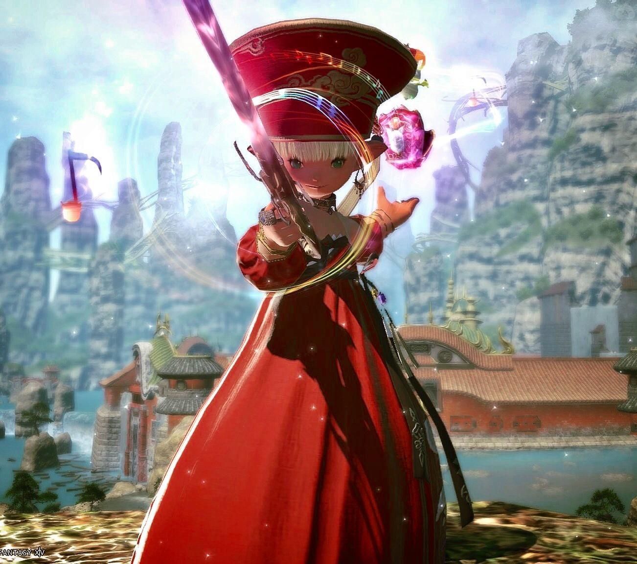 紅道士 (Oriental Red Mage)