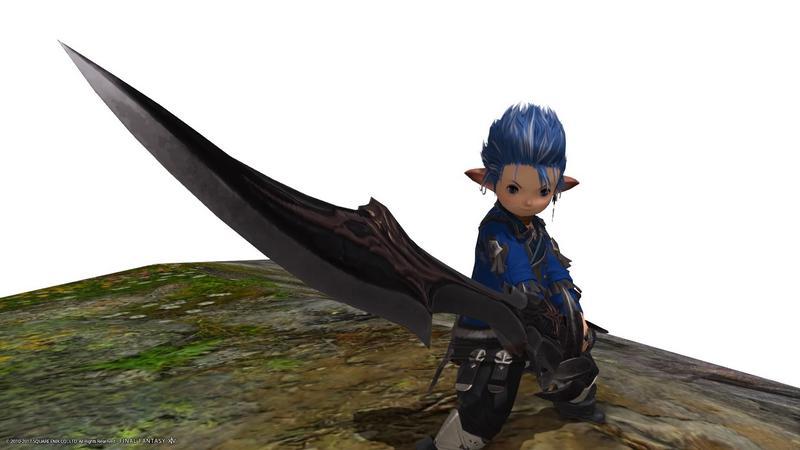 雲海のレンジャー風暗黒騎士