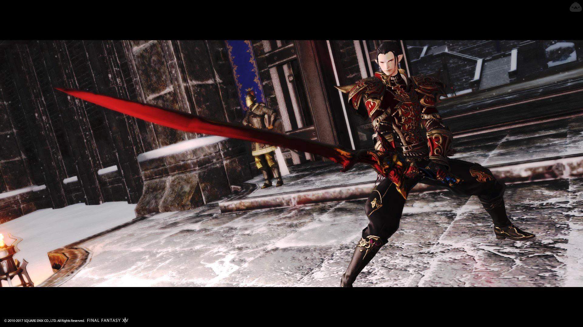 パレードアーマーの暗黒騎士