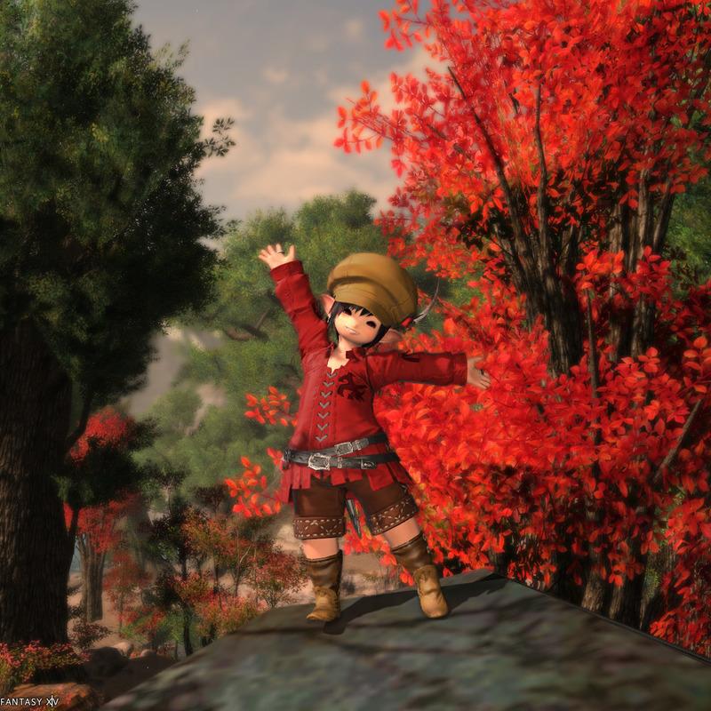 秋ですよ!
