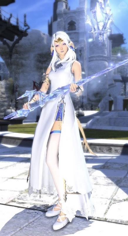氷の女王 赤魔道士ver