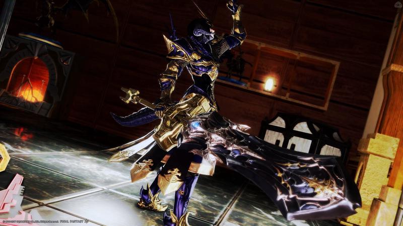 蒼金の騎士