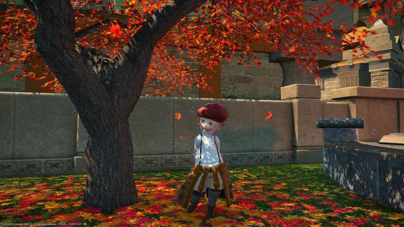 エオルゼアの秋