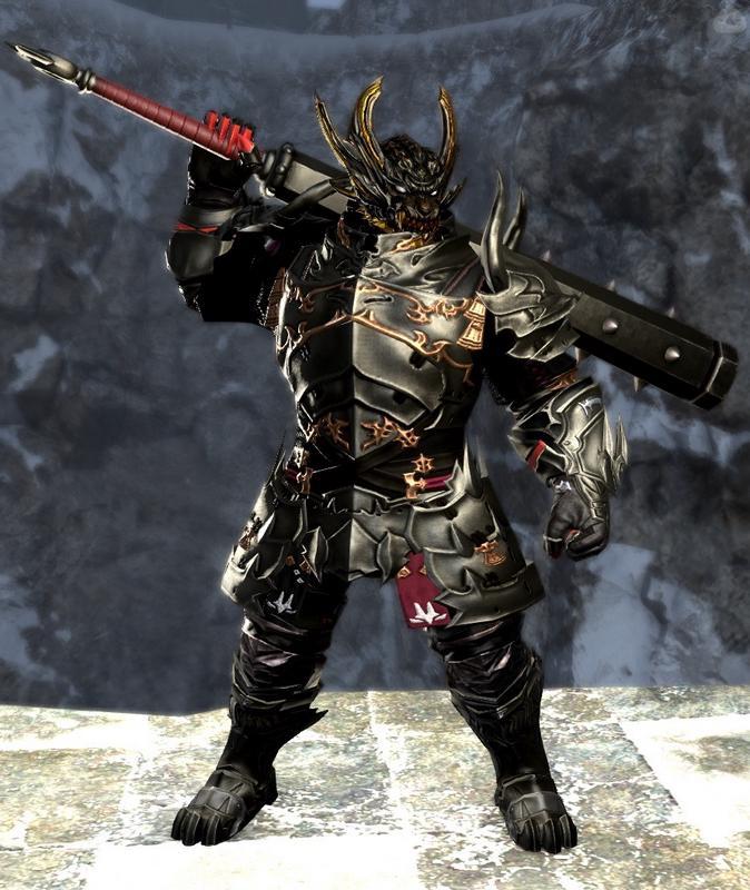 邪霊憑きの黒甲冑