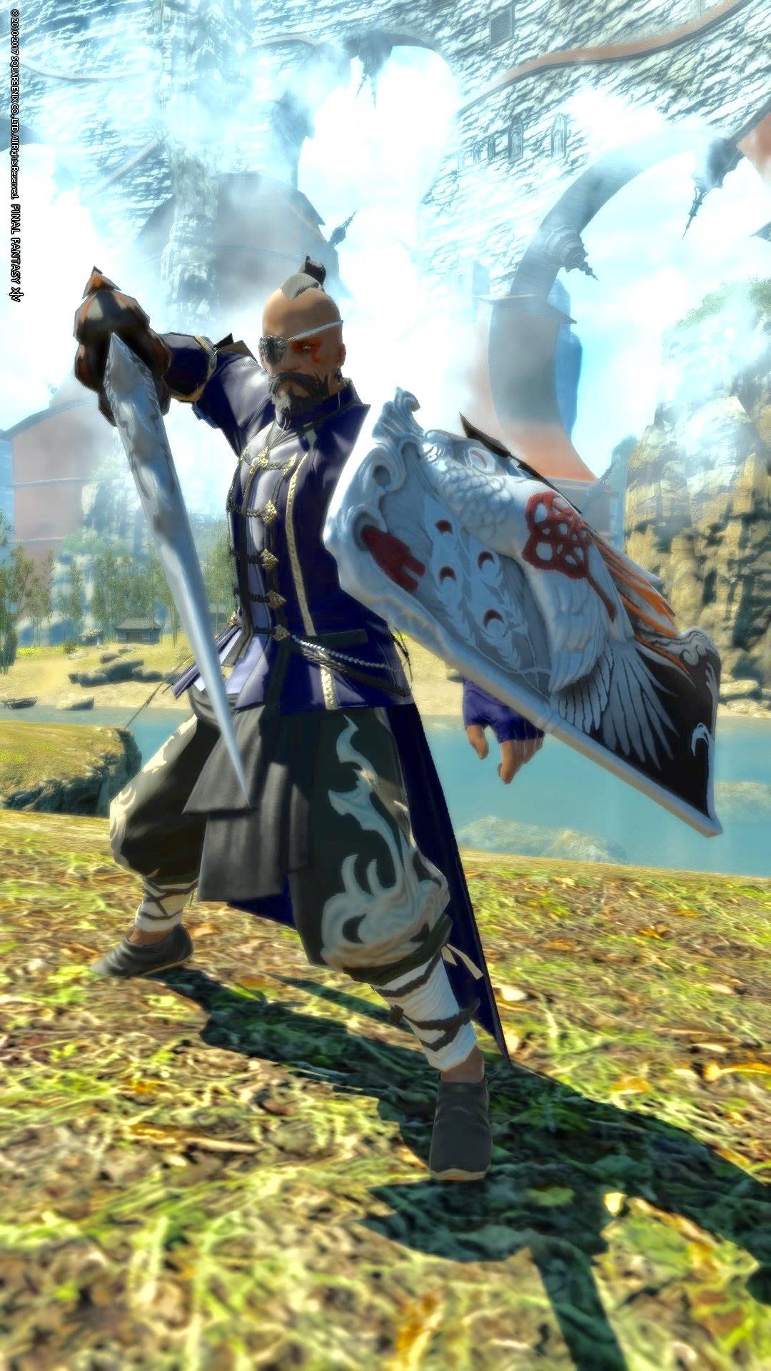 中華風剣士