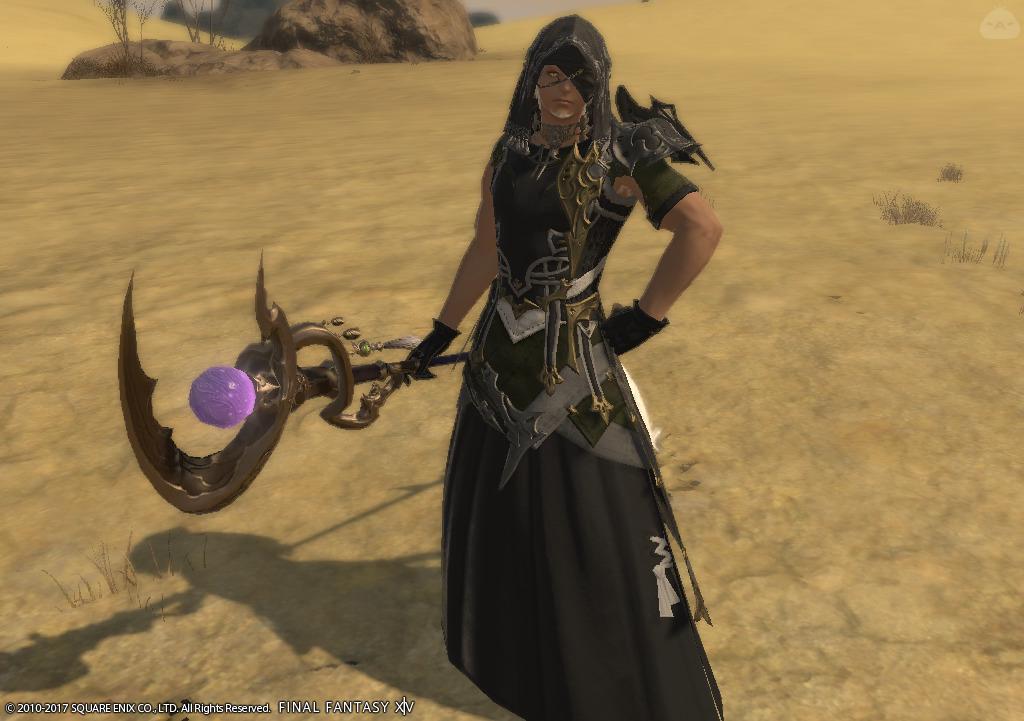 砂漠の黒魔導士