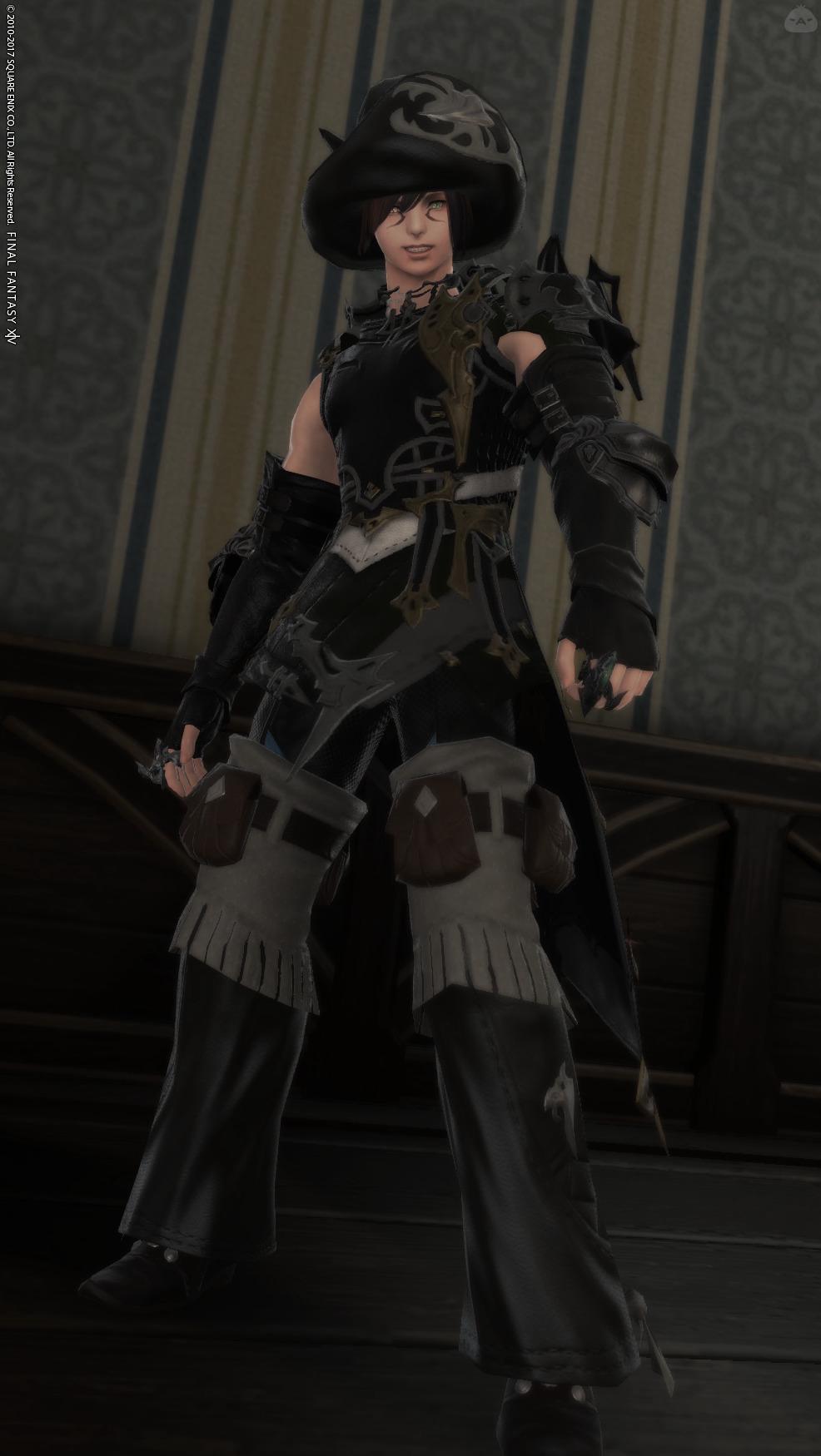 黒服ファンタジー14
