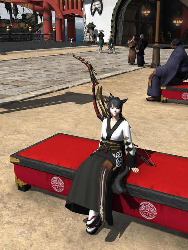 和装弓道少女