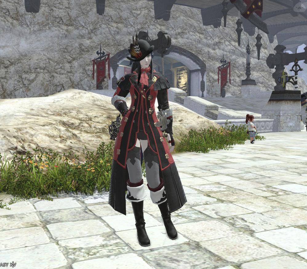 ロミンサンエリート赤魔道士