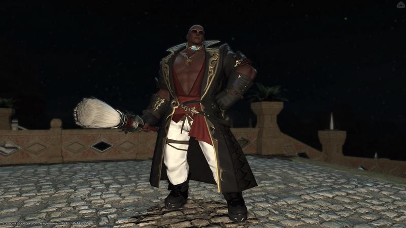 筋肉を信仰する黒魔道士