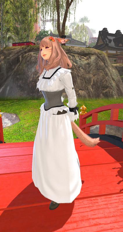 秋にぴったりな新しいドレス