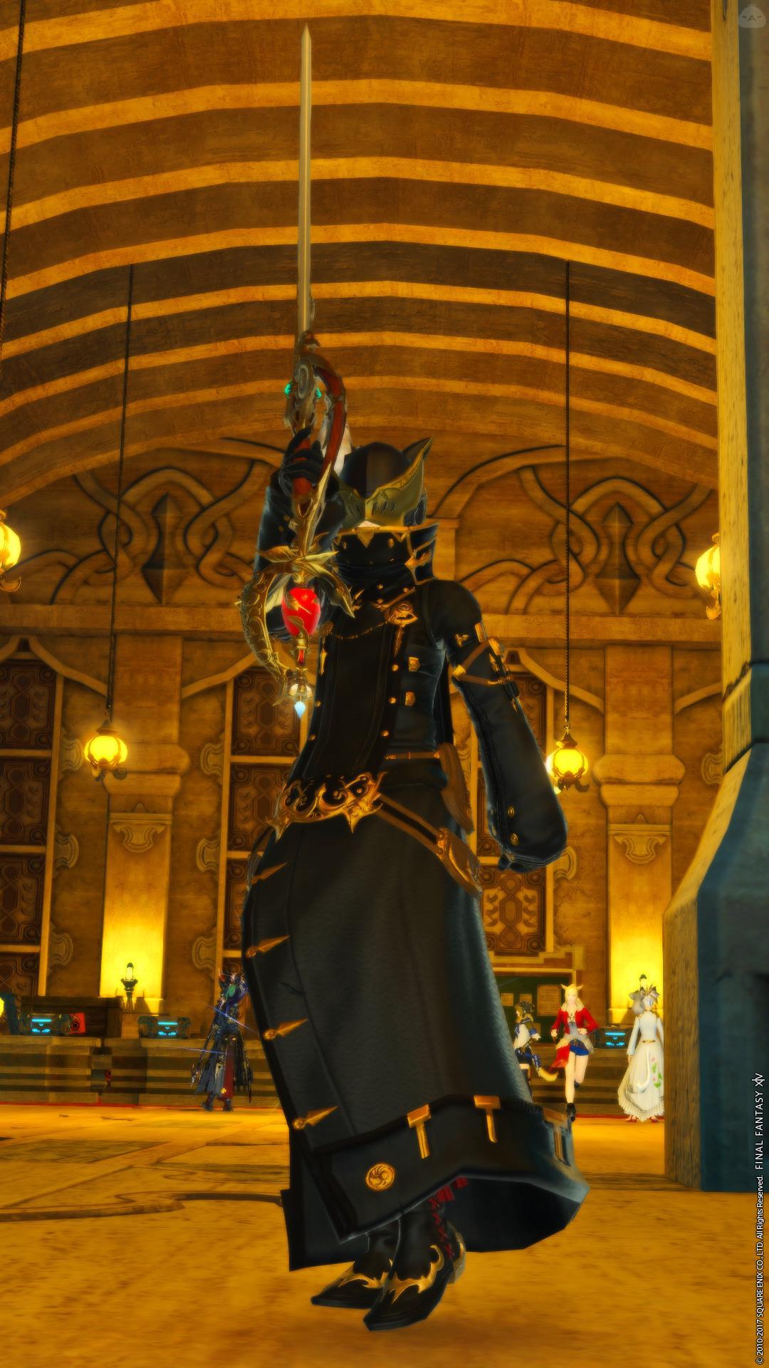 謎の魔法剣士