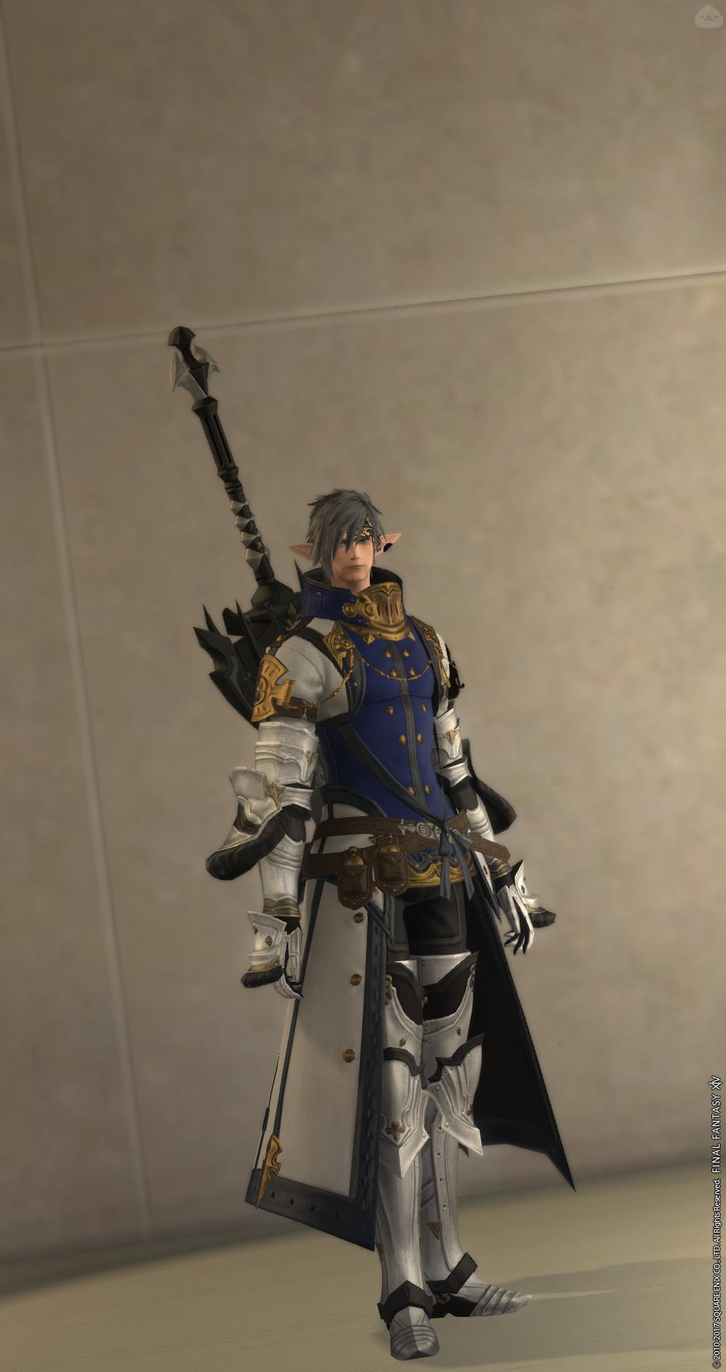 神話ナイトに戻りたい暗黒の聖騎士コーデ4.1ver