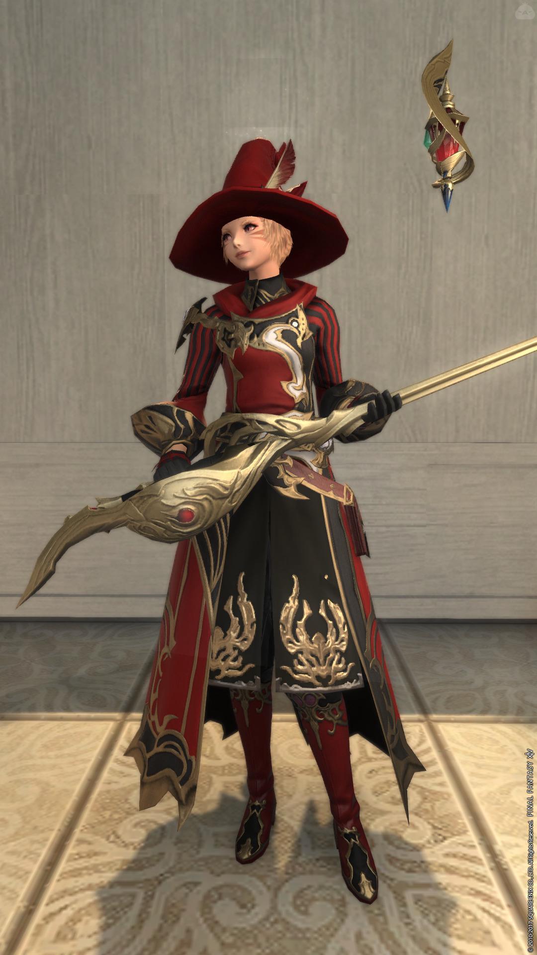 赤魔道士コーデ