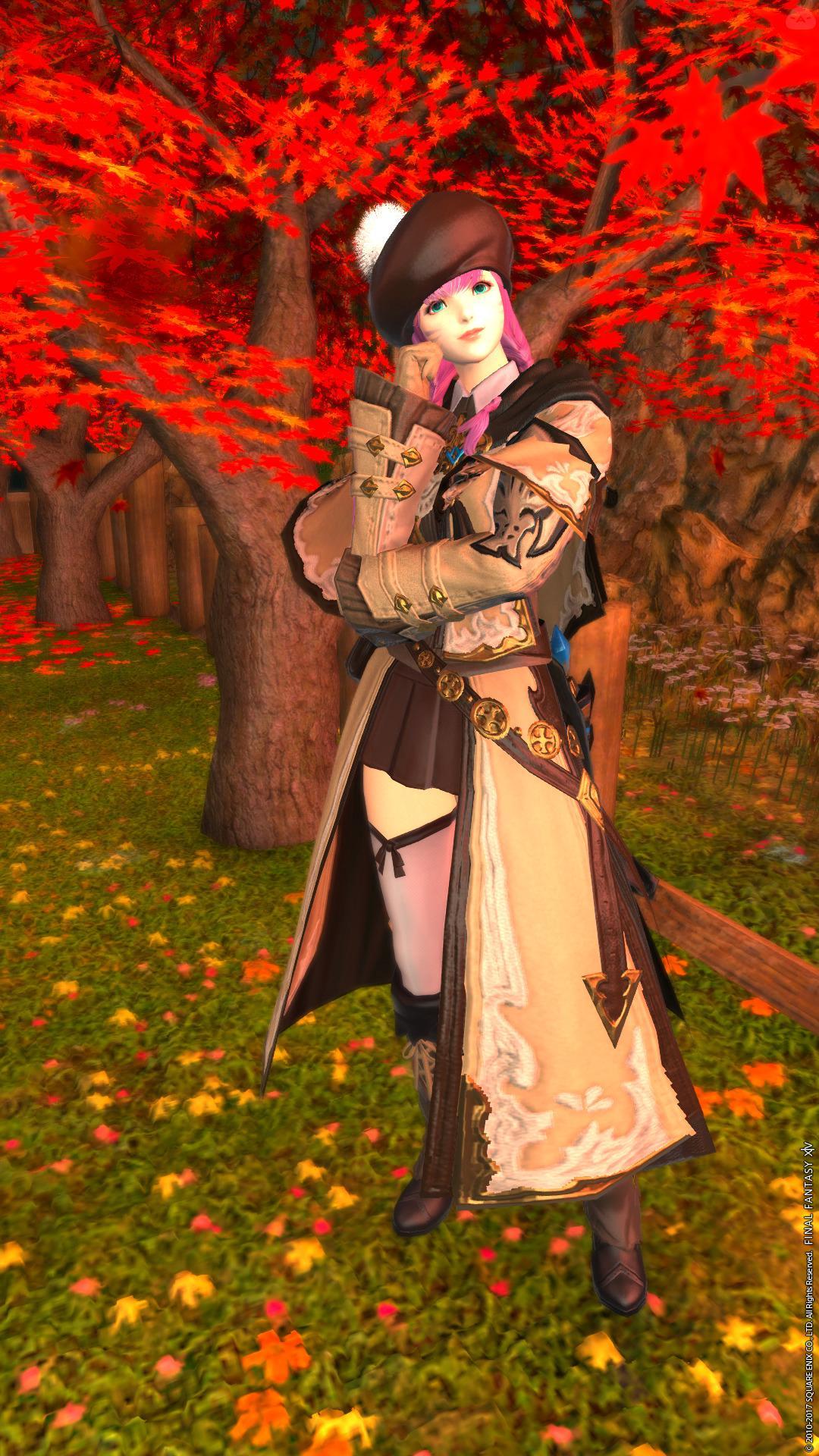 レンジの秋デート