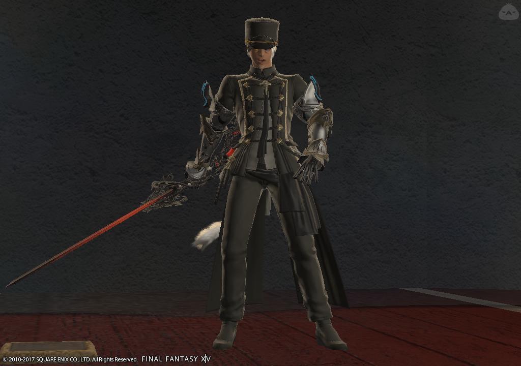 戦闘型指揮者風コス