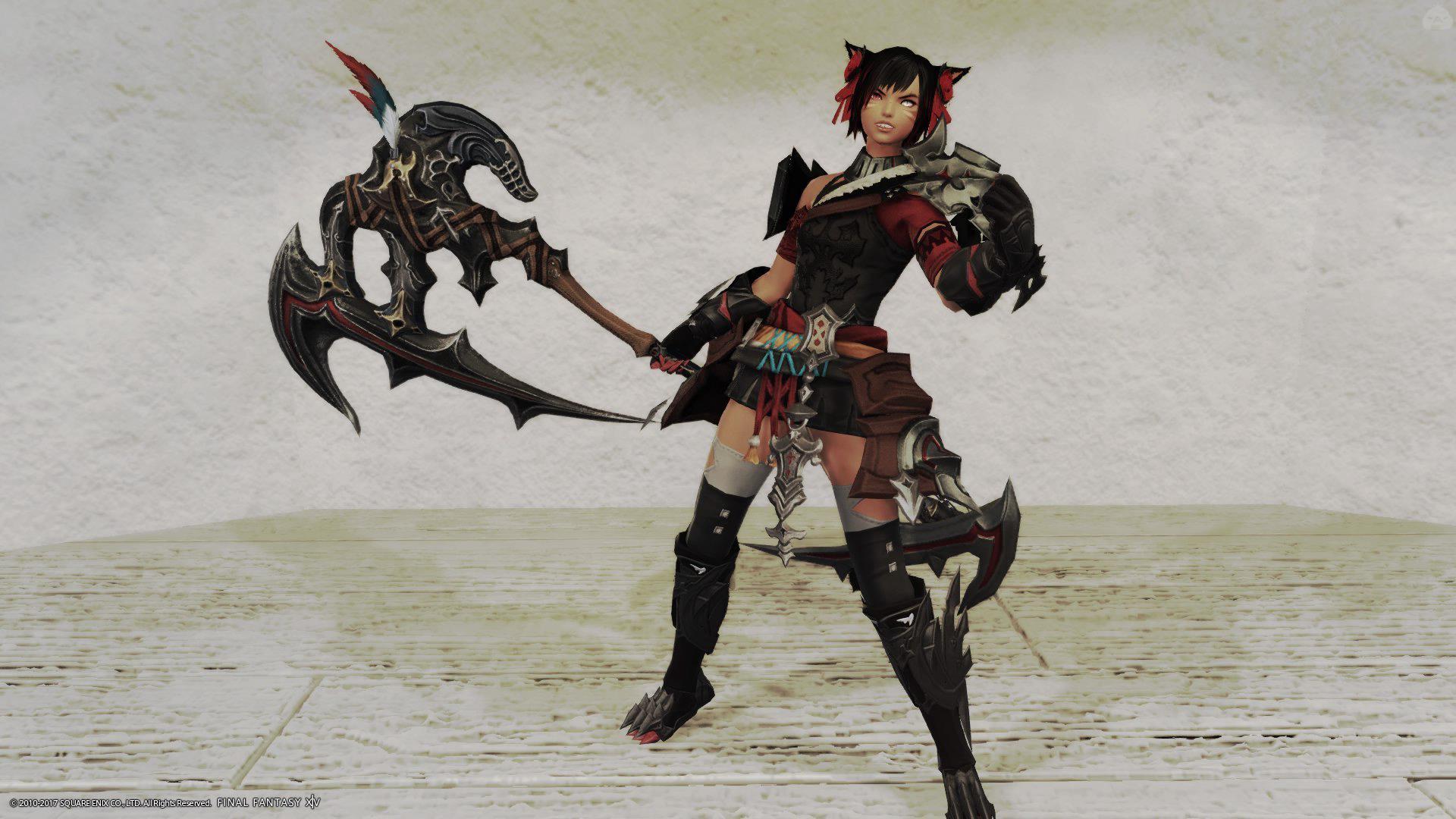 女猫戦士!
