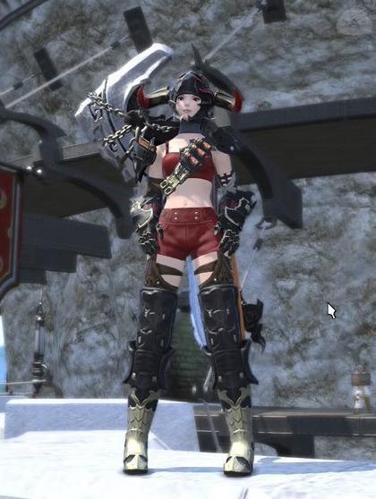 ザ・野生の女戦士