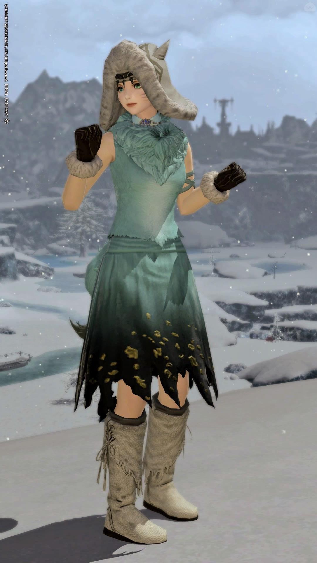 冬のモコモコ