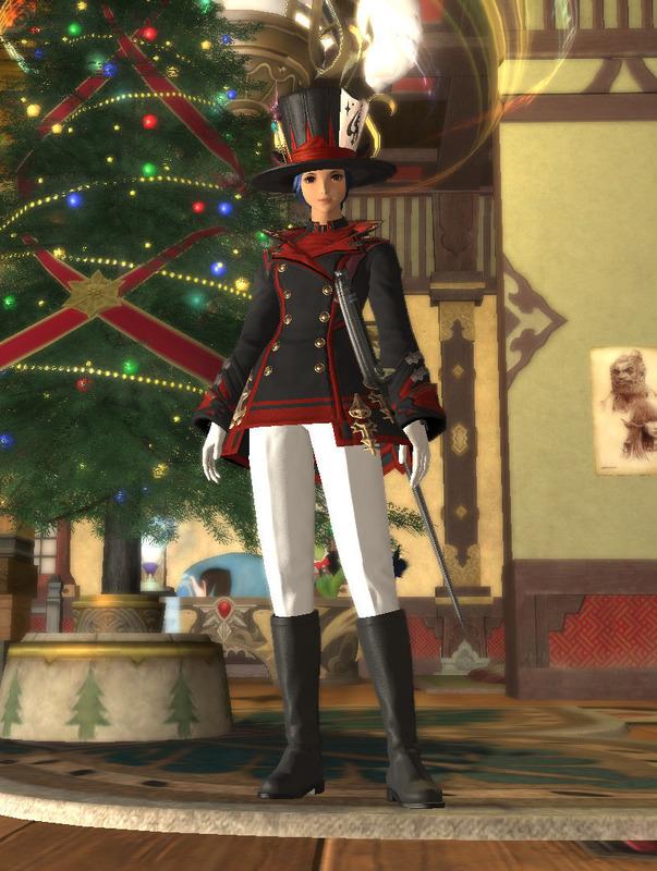 赤魔道士のクリスマス
