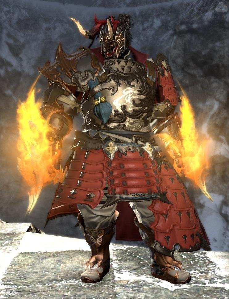 龍甲冑モンク