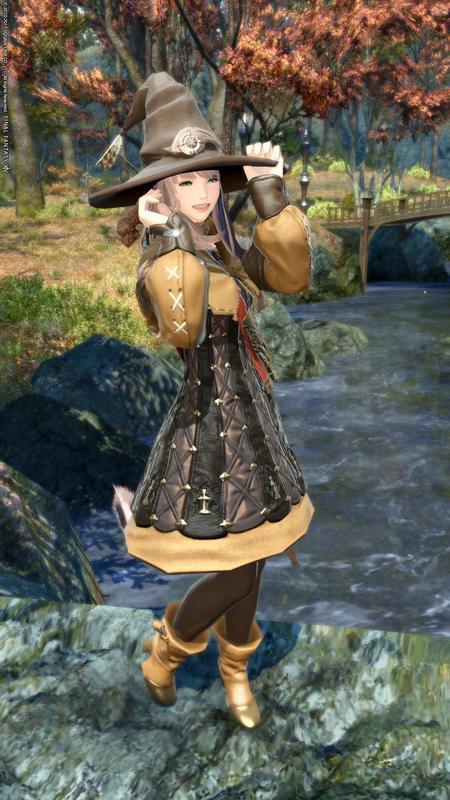 イヴァリース胴で秋の装い