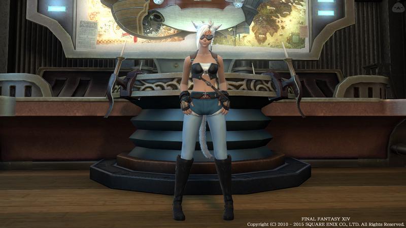 姉御肌な空賊ファッション