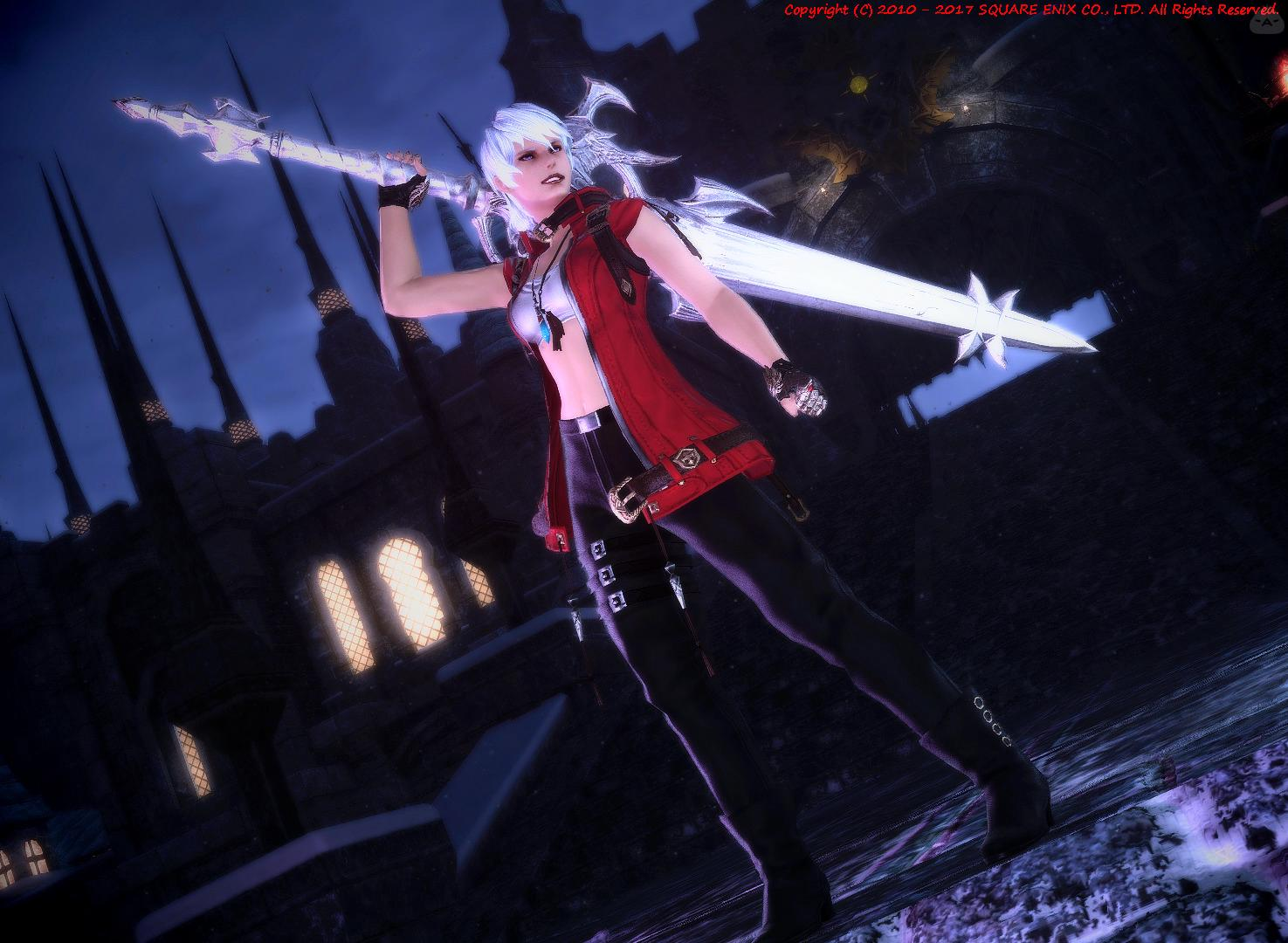 Devil May Cry3のダンテ[女体化]