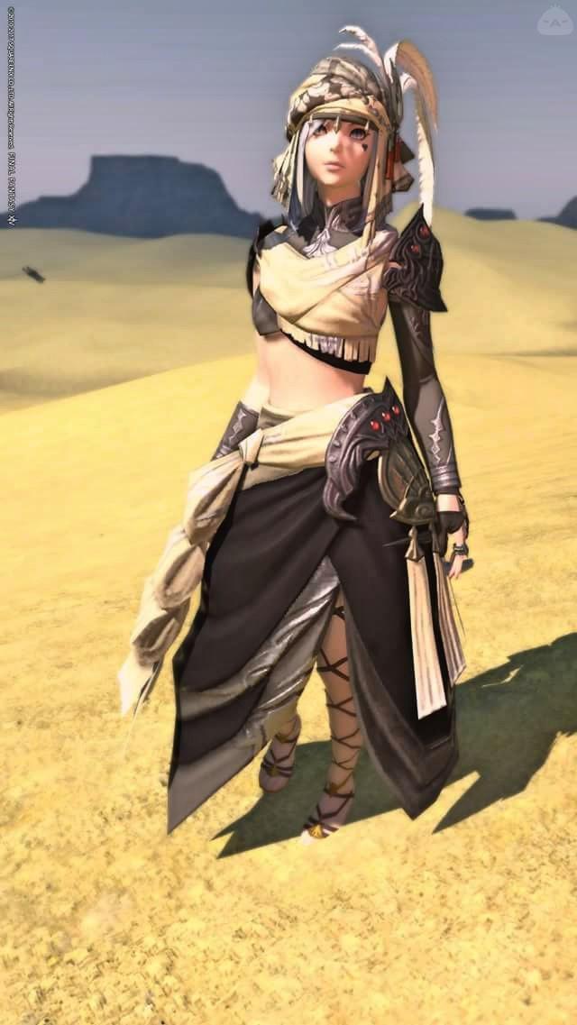 砂漠にはやっぱりこの衣装!