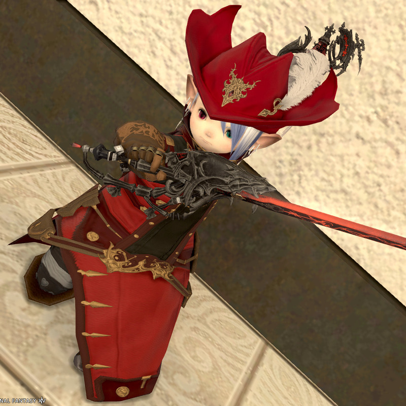 スカラな赤魔道士