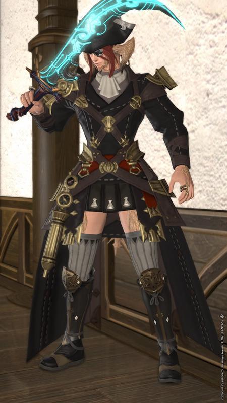 女海賊風タンク